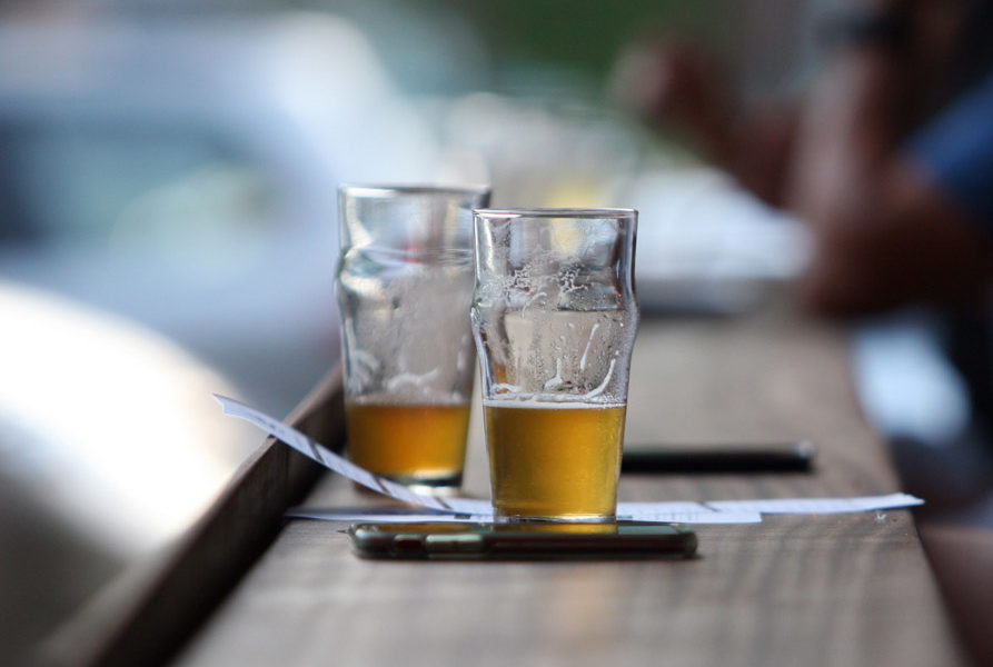 Craft Beer and mobile phones at Local 104